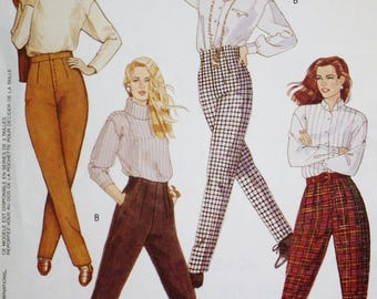 Tapered Pants Sewing Pattern, McCalls 6173, UNCUT