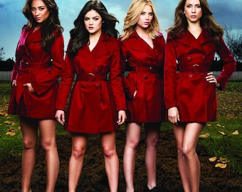 """Pretty Little Liars - Red Coats - 24x36"""" Poster"""