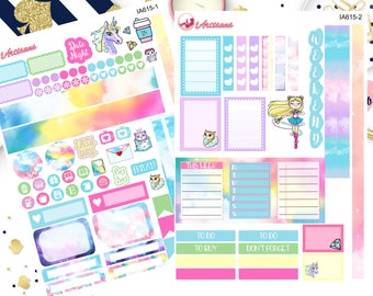 Mini Happy Planner Sticker Kit - Weekly Planner Kit - Mini Stickers - Mini Kit - Kit for mini Planner - Sailormoon Stickers