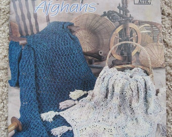 Crochet Pattern Book - Homespun Afghans - Annie's Attic #871215 - Five designs to create