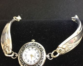 Antique silverware watch