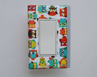 Owls LIght Switch Cover
