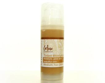 Tinted Moisturizer 1oz travel size, Medium Shade, tinted face cream, tinted face moisturizer, face moisturizer, natural tinted cream