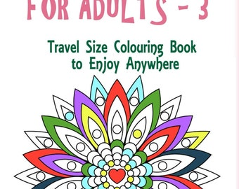 Handy Little Colouring Book for Adults - 3