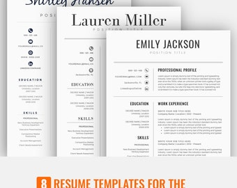 Resume Template | CV Template | Professional Resume Template | Resume Template Word | Creative Resume Template | Modern Resume Template
