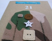 Items similar to birthday card army card armed forces mens birthday card army card armed forces mens birthday card armed forces day military card soldier card soldier birthday card soldier bookmarktalkfo Image collections