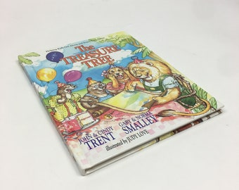 The Treasure Tree Hardcover Childrens Book Vintage 1992 Helping Kids Get Along