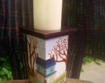Farmhouse Candlestand tole/decorative/painting pattern