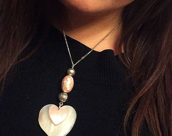 Little Heart Big Heart Pendant Necklace