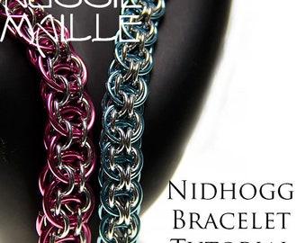 Chain Maille  Tutorial - Nidhogg Bracelet