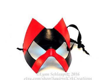 Super Hero Mask, Mardi Gras, larp, Leather mask,  theater, costume, rave, Cosplay,  adventure