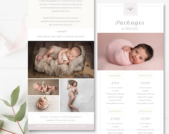 Template Rack Etsy - Rack card template photoshop
