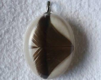 Wild Turkey Feather pendant