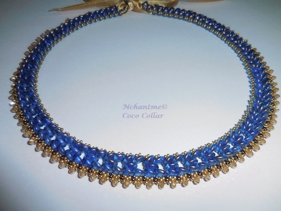Coco Collar Necklace Pattern Instant Download
