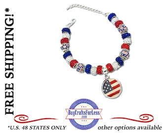 "USA ""OLD GLoRY"" Bracelet **FREE Shipping + Discounts**"