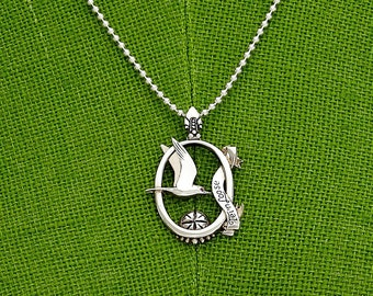 Tern Loose - sterling silver necklace