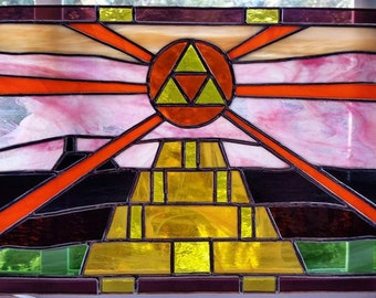 Legend of Zelda: A Link to the Past Stained Glass Piece