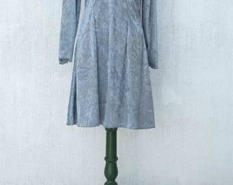 Vintage chenille dress 1980s - Vintage dress, new with label 1980s - Made in France - not used / remainder - remaining stock