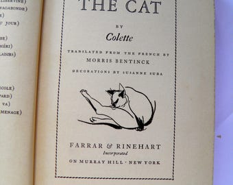 The Cat by Collette Translated into English 1936