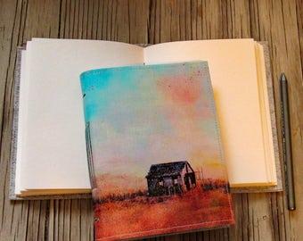 Das Shack-Leinwand Abdeckung Journal der ursprünglichen Shack Malerei Long Beach Island NJ - tremundo