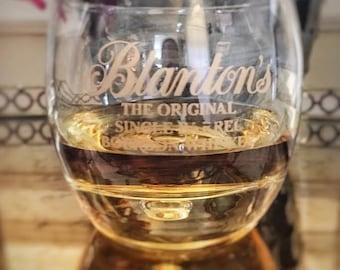 Blanton's Bourbon Whiskey Glass
