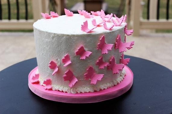 Fondant Butterflies Edible Butterflies Butterfly Cake Topper