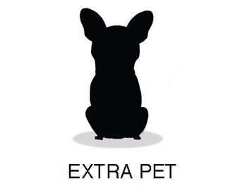 Extra pet MYME. Custom portrait-extra item. Made by order.