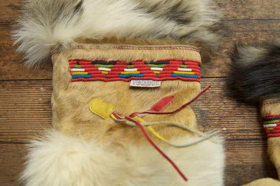Made 7 Fur 41 5 Hippie Tecnica Boot Fits Italy 6 Boots Italian Real in Boho Vintage Bohemian size Mukluk tqxRw7qI