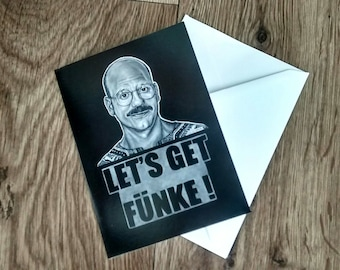 Tobias Funke, Arrested Development Birthday, Valentine, Anniversary Card