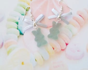 earrings  gummy bear