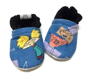 90's character Hey Arnold Booties