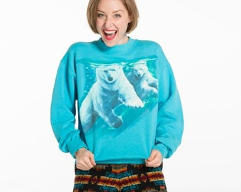 Polar Bear Buddies Sweatshirt