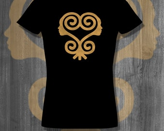 Sankofa African Symbol T shirt tops and tees t-shirts t shirts| Free Shipping