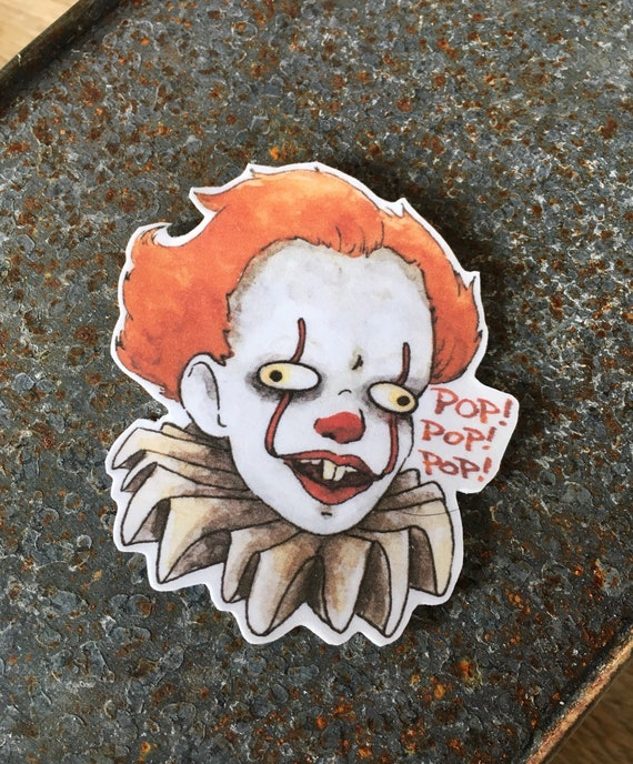 Pennywise it 2017 sticker