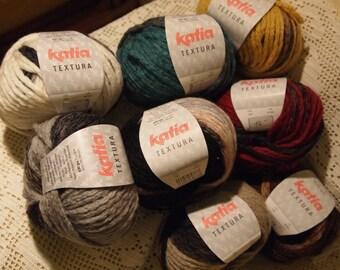 Katia Textura yarn - SALE - only 4.99 USD
