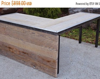"""Limited Time Sale 10% OFF Custom 72""""x 72"""" L Shaped Industrial desk Without front panel"""