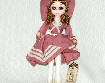 "Small Vintage Bradley Big Eye Doll ""Barbra"""