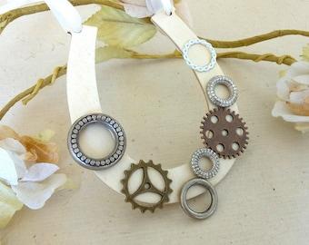 Wedding Horseshoe Steampunk Gift for Bride Keepsake
