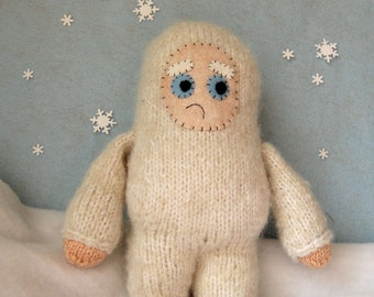 Mr. Abominable Knitting Pattern