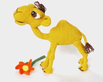 Amigurumi Pattern (Crochet) - Quasimodo the Camel - English Version