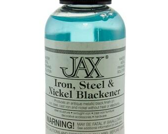 Jax Iron, Steel & Nickel Darkener 2oz Bottle  (PM9008)