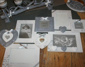 Pele mixed gray and white home country hearts limed gift idea?