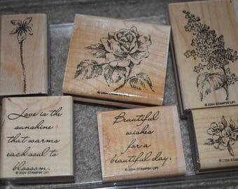 Stampin' Up! Heaven Scent Wood Stamp Set (retired)