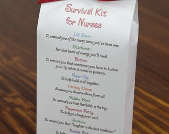 Survival Kit for Nurses - Printable PDF