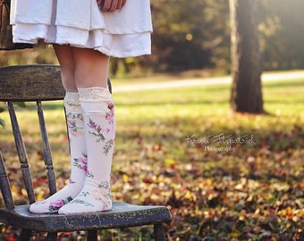 Abby's Knockout Socks - Dressy Socks - PDF Sewing Pattern