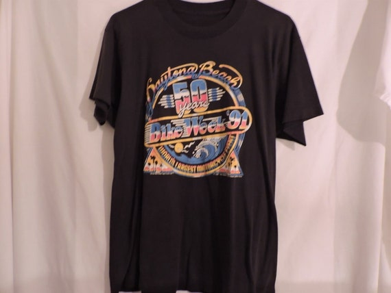 Vintage Daytona Harley Davidson tshirt from 89' Large size nmcpbI9kc3
