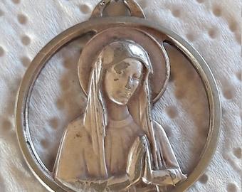LOURDES - Antique French Medal