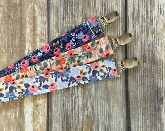 Soother Clip, Fabric Soother Clip, Soother String, Pacifier Clip, Soother Strap, Dummy Clip, Binky Holder, Binky Clip, Soo String