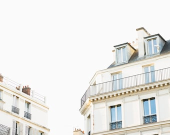 Paris Photography Print - Paris Architecture Photography - Paris Wall Art - Neutral Photography Print