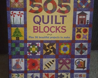 Better Homes and Gardens 505 Quilt Blocks pattern book